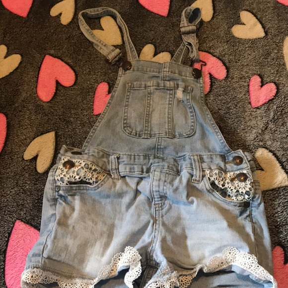Justice Other - Justice Lace Overalls